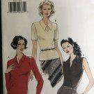 Vogue 9341 Misses Top with sleeve variations Sewing Pattern size 12 14 16