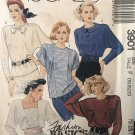 McCall's 3901 Misses' Pullover Blouse:Sizes 16 18 20 UNCUT Sewing Pattern