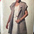 Butterick 6388 See & Sew Jacket and Sleeveless Dress sewing Pattern Size 16 - 24