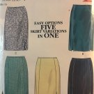 New Look 6809 Misses skirt 5 variations in one  Size 8 - 18 sewing pattern