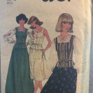 Simplicity 8301 Misses Pullover Blouse, Camisole and Skirt in Two Lengths Sewing Pattern Size 10