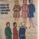Butterick 4144 Sewing Pattern Girl's Coat in two lengths SIze 12 Bust 30
