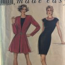 Style 2201 Misses Dress and Jacket Sewing Pattern size 8 - 18 Uncut