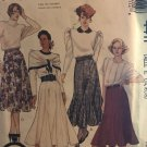 McCall's 4411 Misses' Skirts Size 14 16 18 UNCUT Sewing Pattern