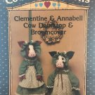 Clementine & Annabell Cow Doorstop & Broomcover Country Patterns 108