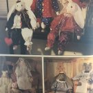 Simplicity Crafts sewing pattern 9336 Bunny Cat and Clothes 24""
