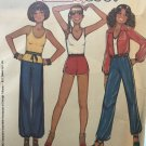 McCall's 5937 Annie Too Jacket Top Short Pants Embroidery Transfer Sewing pattern size 6 - 10