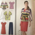Simplicity Sewing Pattern 1620 Misses Pullover Dress Tunic Pants Jacket  Plus Size 20 - 28