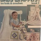 Baby Wrappers to Knit & Crochet Afghans Pattern Leisure Arts Leaflet 689  six designs