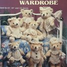 Teddy Bear Wardrobe Thread Crochet Pattern American School of Needlework 1112