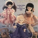 Monday's Child Days of the Week Dolls Crochet Pattern American School of Needlework 1117
