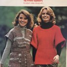 Sweaters & Shawls Columbia Minerva 2620 Knitting and Crochet 1970's