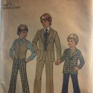 Simplicity 7733 Child's and Boys' Jacket, Vest and Pants Vintage Sewing Pattern Size 7
