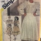 Simplicity Sewing Pattern 5360 Misses Size 14 Embroidered Full Skirt Blouse