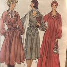 Vogue 9264  Misses' Dress. Loose-fitting and flared Size 14 Sewing Pattern