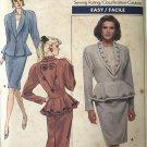Butterick 5950 Misses' Jacket & Skirt 1980's vintage business wear Size 12 sewing pattern UNCUT