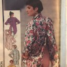Simplicity 7329 Misses' Loose-Fitting Pullover shirt sewing pattern Size 18-20