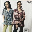 Easy Stitch 'n Save Mccalls 9114 Misses' Top Uncut Sewing Pattern size 8 -16