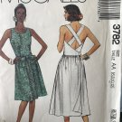 McCall's 3782 Sewing Pattern Misses' Dress in Two Lengths size 6 8 10 12 Uncut