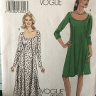 Vogue 8592 Sewing Pattern Misses' Dress in Two Lengths size 6 8 10 12 14 16 Uncut