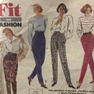 Simplicity 7519 Misses Fit and Fashion Pants Sewing Pattern Size 12- 18