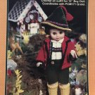 "Fibre Craft Hansel Doll Outfit FCM 170 Crochet Pattern uses 13"" boy doll."