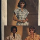 Simplicity 6804 Misses Easy to Sew Shirt in Two Lengths size 16 18 20