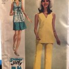 Simplicity 8830 Simple-To-Sew Misses' Super-Jiffy Mini-Skirt, Overblouse and Pant Size 14