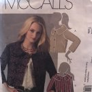 Misses Lined Jacket Size 14 - 20 McCall's 5243 Sewing Pattern
