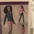 McCall's 4860 Doll Clothes Wardrobe for 16¨ Doll Sewing Pattern