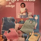 Baby Bibs to Crochet Pattern Leisure Arts Leaflet 416 By Sue Penrod