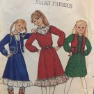 Butterick 4151 Girl's Vest Blouse Skirt Sewing Pattern size 12