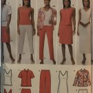 Simplicity Sewing Pattern 4992 Misses Knit Tank Dress Top Skirt and Pants Plus Size 20 - 28