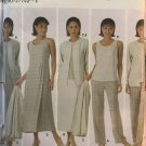 Simplicity Sewing Pattern 5071 Misses Top Skirt Dress and Pants Plus Size 18 - 24