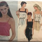 Vogue 7607 Fitted Hip Length Camisole Sewing Pattern Size 12