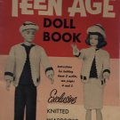 "Mary Maxim Teen Age Doll 11 1/2"" Knitted Doll Clothes Pattern"