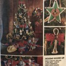 McCall's 7290 Sewing patterns for Cowboy Boot Christmas Stocking and other ornaments