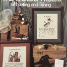 Leisure Arts 459 Cross stitch charts for the Golden Rules of Hunting and Fishing