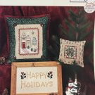 Holiday House Elizabeth's Designs Cross stitch charts for the Holidays
