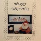 Temple Treasures Cross stitch chart Merry Christmas