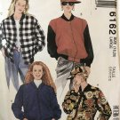McCall's 6162 Misses' Unlined Jacket and Cap Size 18 20 Sewing Pattern