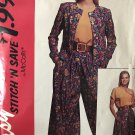 McCall's 6086 Misses' Unlined Jacket, Blouse And Split-Skirt Sewing Pattern size 8 - 14
