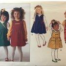 Butterick 5002 child's Romper Top Jumper Jumpsuit designer Ruth Scharf sewing pattern size 4 5 6