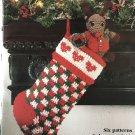 Red Heart Yarn Christmas Keepsakes Crochet Booklet 1408