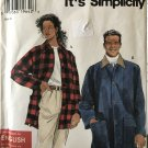 Simplicity Sewing Pattern 7441 Unisex Jacket for Men Women Teens size XS to XL