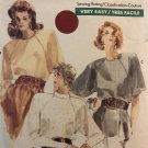 Very Easy Very Vogue 7044 Misses'/Half Size Blouse Sewing Pattern Size 8 10 12