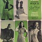 Gypsy Retro Hippie VESTS BOOK 2  vol. 76 Jack Frost crochet knitting patterns vintage Boho designs