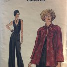 Very Easy Vogue 9253 Misses' Jacket and Jumpsuit size 14 Sewing Pattern