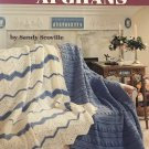 One-Piece Afghans to knit and crochet pattern American School of Needlework 1166