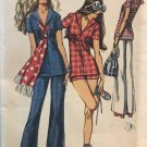 Simplicity 9372 Misses' Shorts or Bell-Bottom Pants and Tunic size 12 sewing pattern